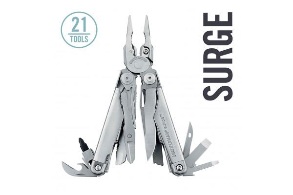An in-depth review of the Leatherman Surge.