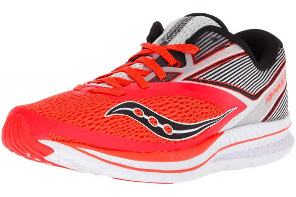 An in-depth review of the Saucony Kinvara 9 running shoe.