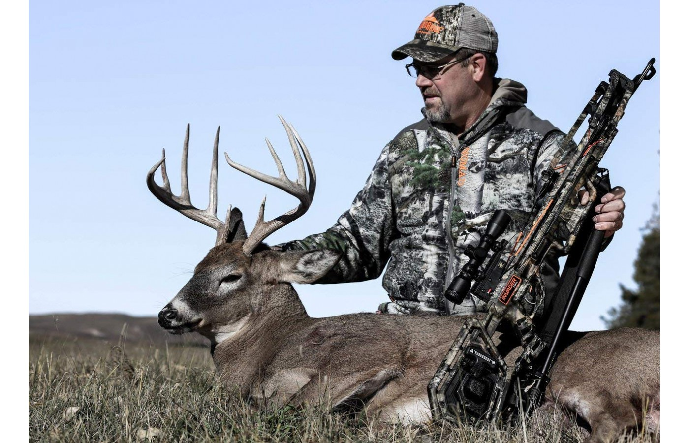 The TenPoint crossbow offers the power needed to take animals the size of deer easily.