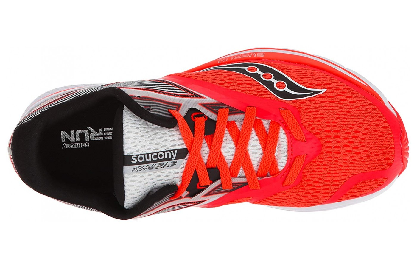 Saucony Kinvara 9 inner shoe features the Eva foam support.