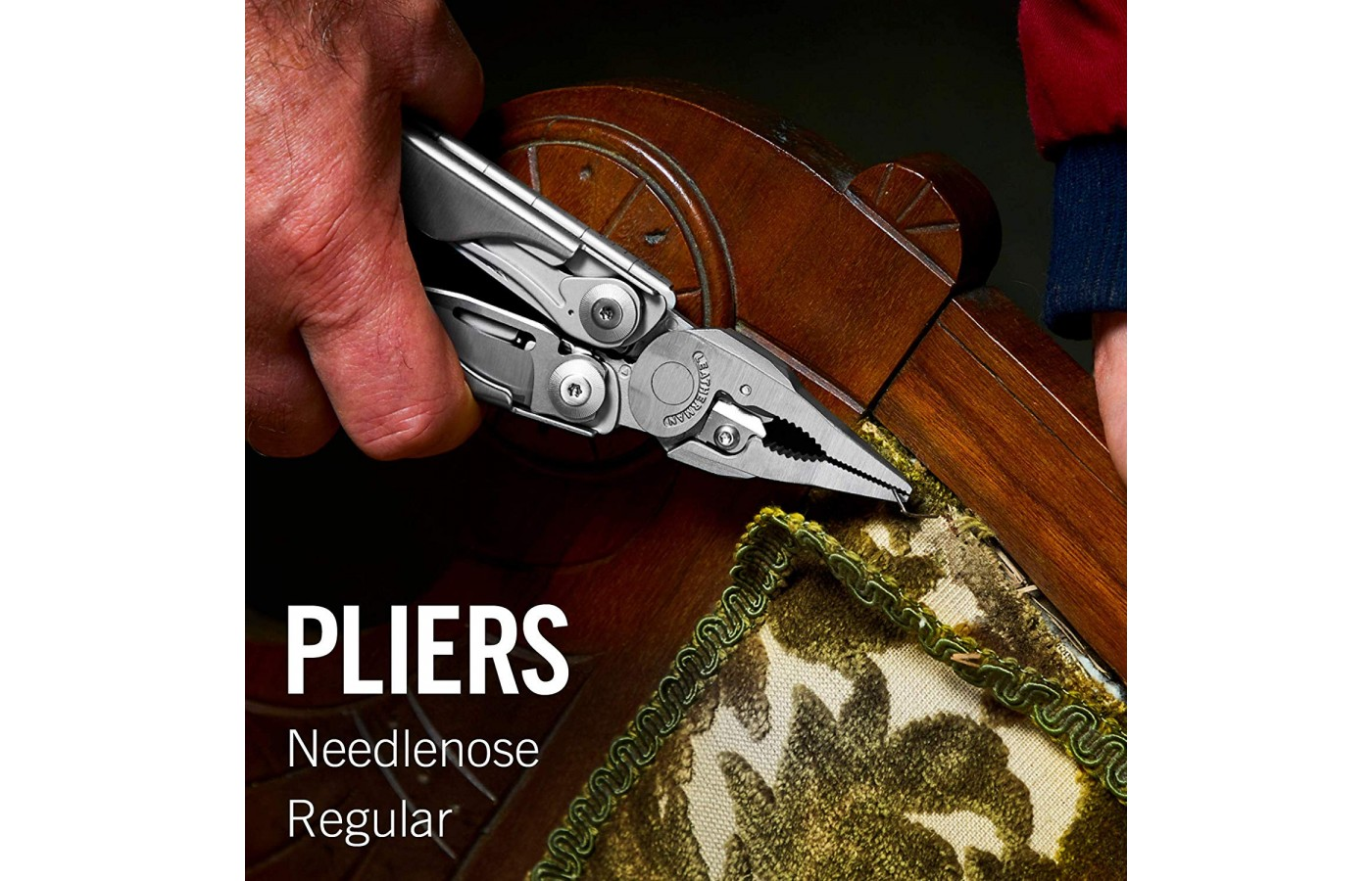 The Leatherman Surge has full size pliers to tackle your projects.