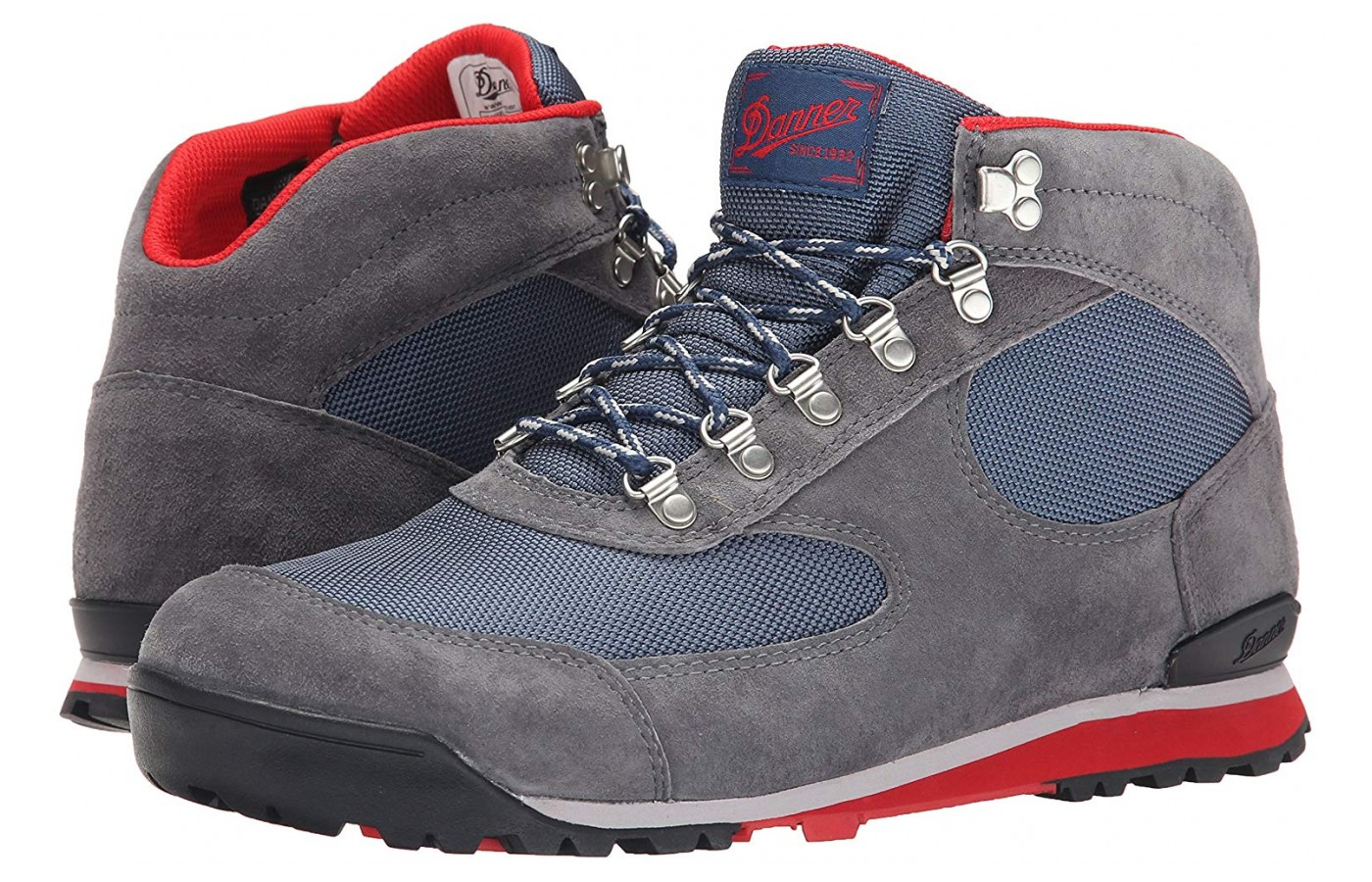 There is microfiber and soft suede used in the upper.