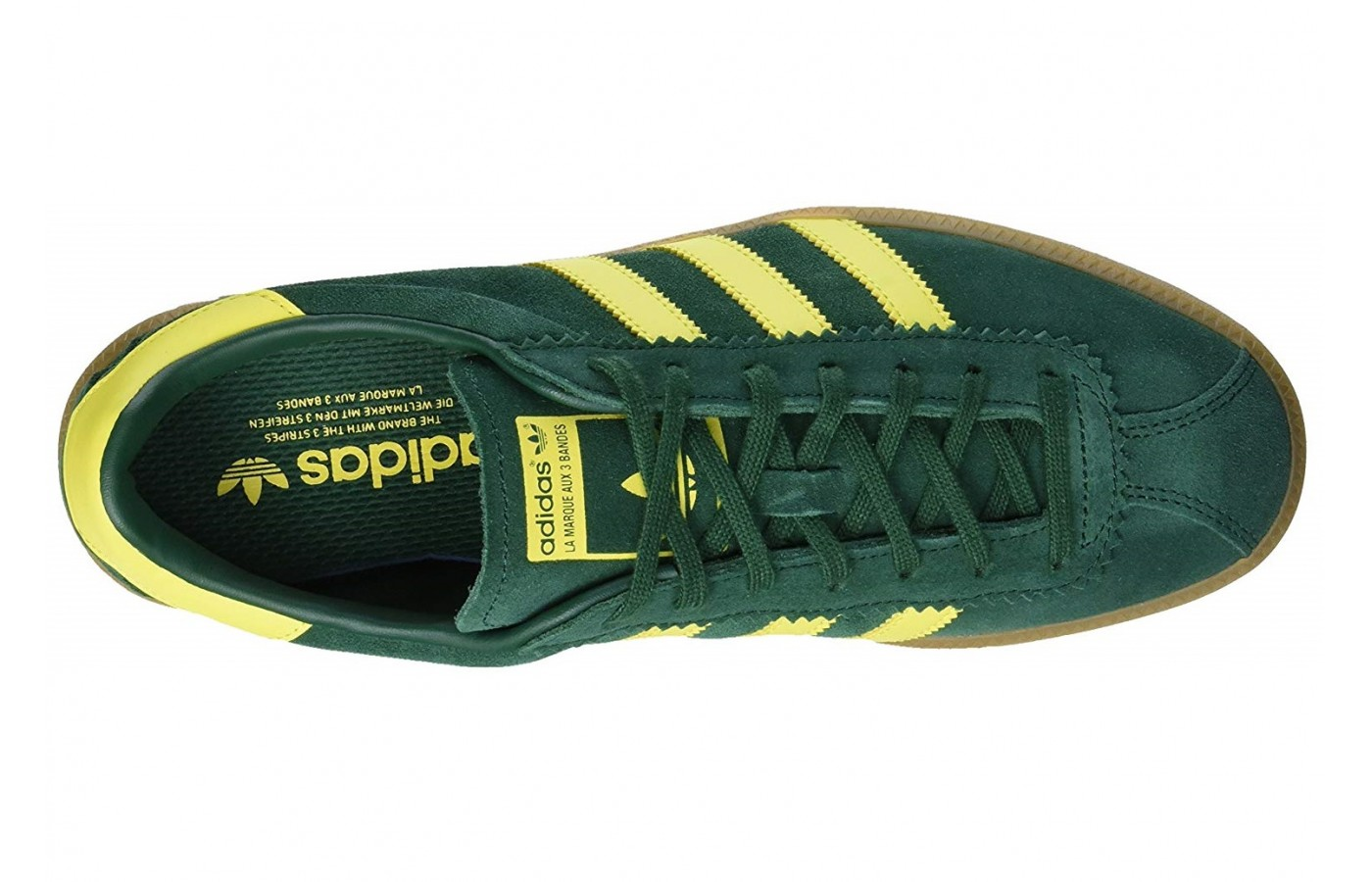 The upper of the Adidas Bermuda is made of a nice and soft suede material.
