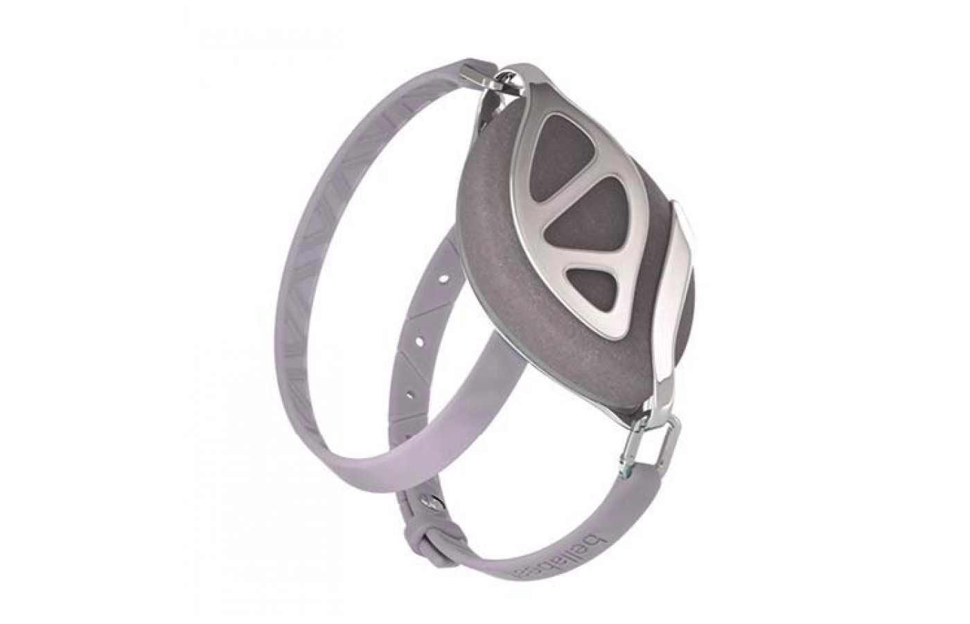 The Bellabeat Leaf can be warn around the wrist, on the neck or clipped onto a shirt for individual preference.