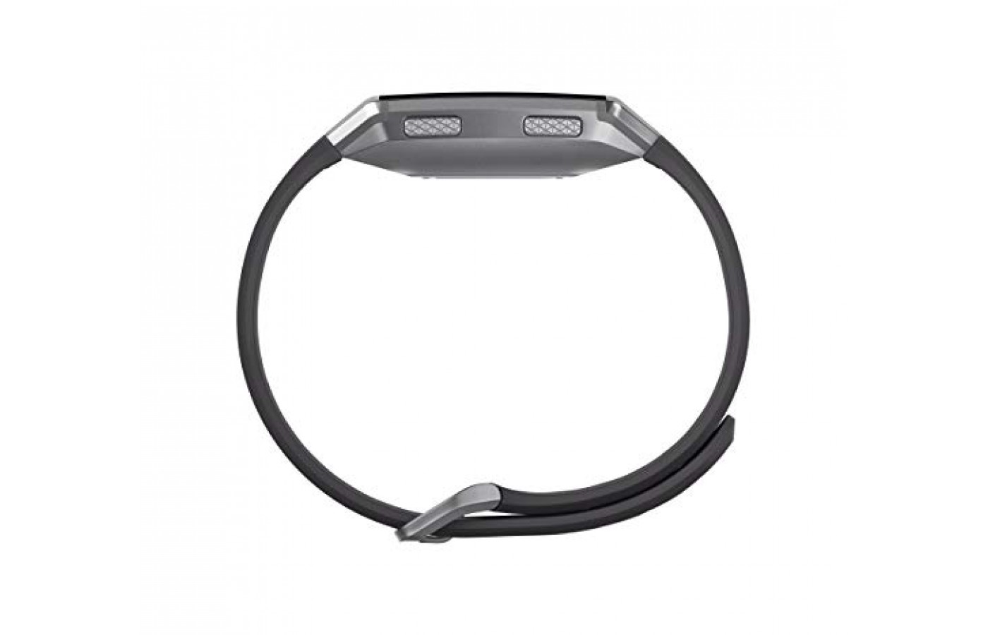 The Fitbit comes with both a wide and a thin band.