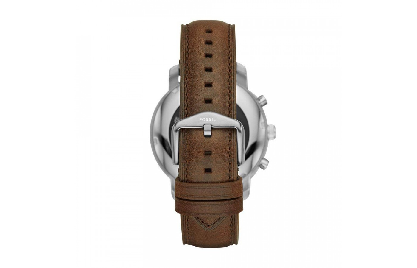 The leather version is an unsurprising – but very reliable – belt-buckle design.