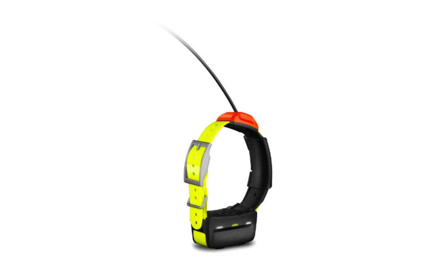 The Garmin T5 offers replaceable collar straps.