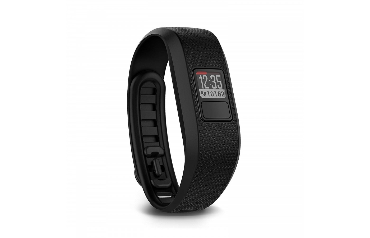 The Garmin Vivofit 3 counts steps, calories and distance for better tracking.