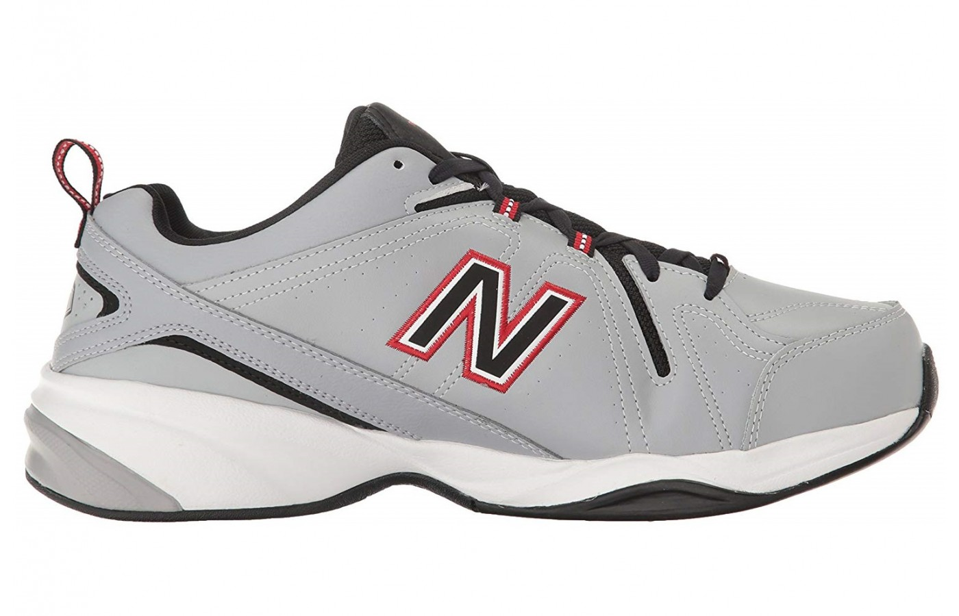 The New Balance 608v4 has an EVA-midsole for better support throughout the bottom of the foot.