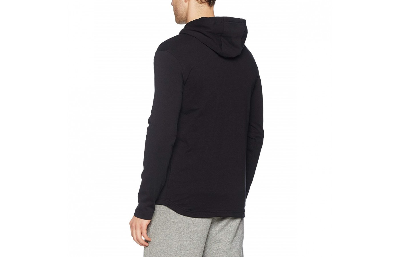 The Nike Club hoodie also offers a hood in order to keep the wearers head warm.