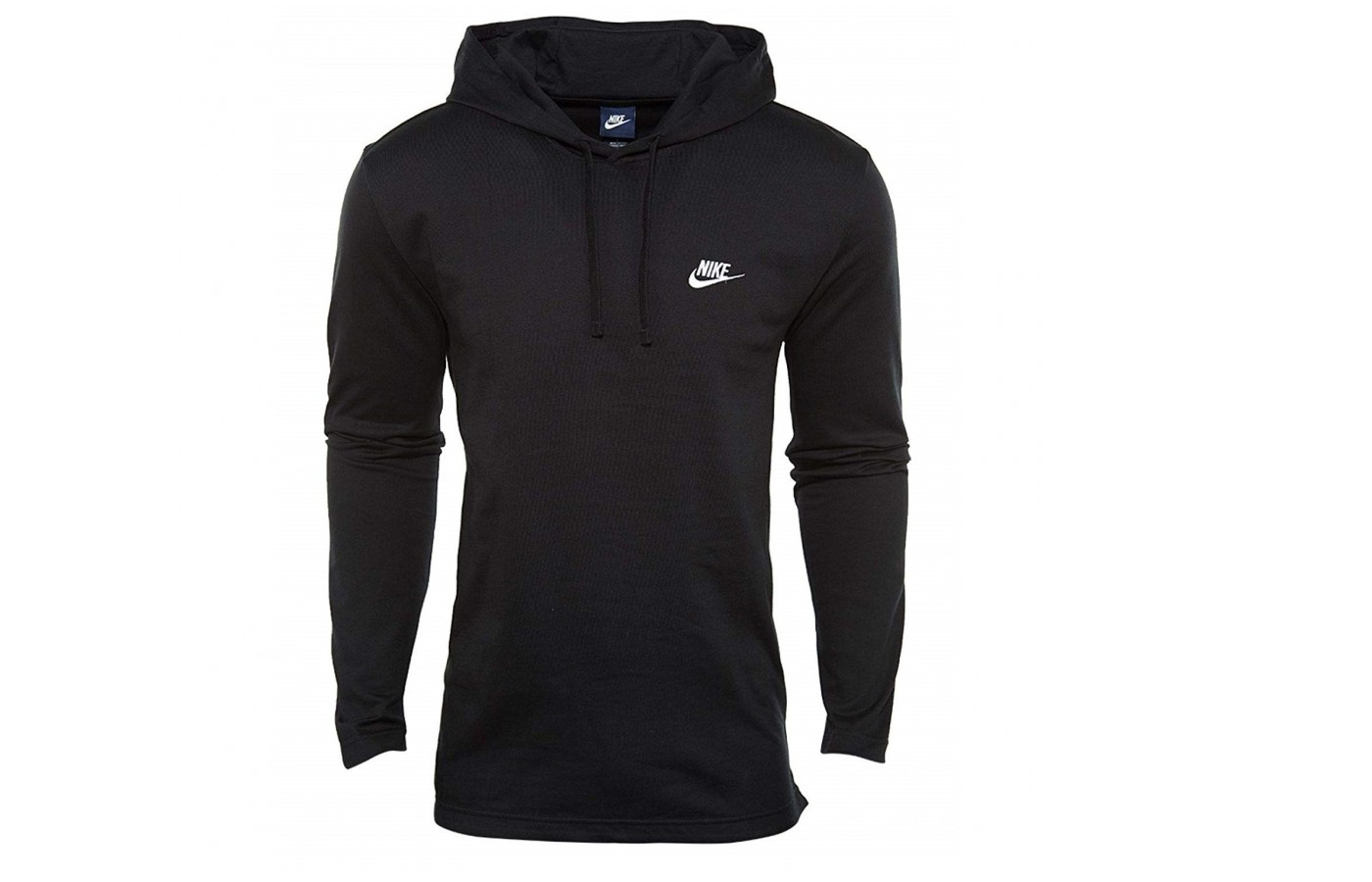 The Nike Club Hoodie is fleece lined in order to keep the wearer warm even in cooler weather.