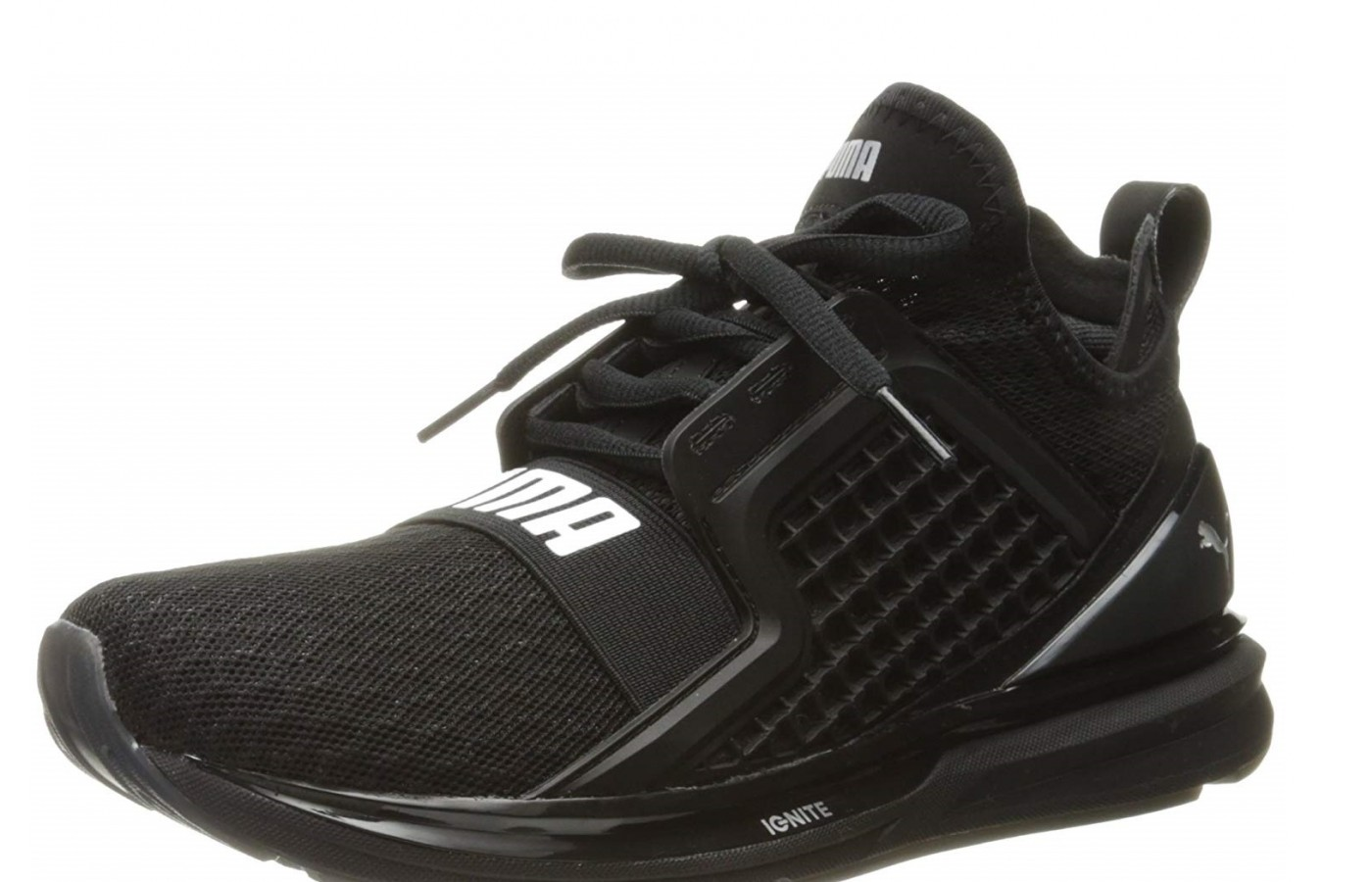The Puma Ignite Limitless has a clam-shlle construction for a breathable fit.