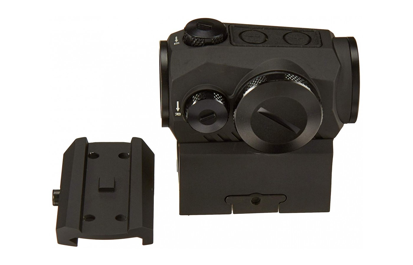 . The integrated M1913 Picatinny interface offers mounting options for a multitude of weaponry