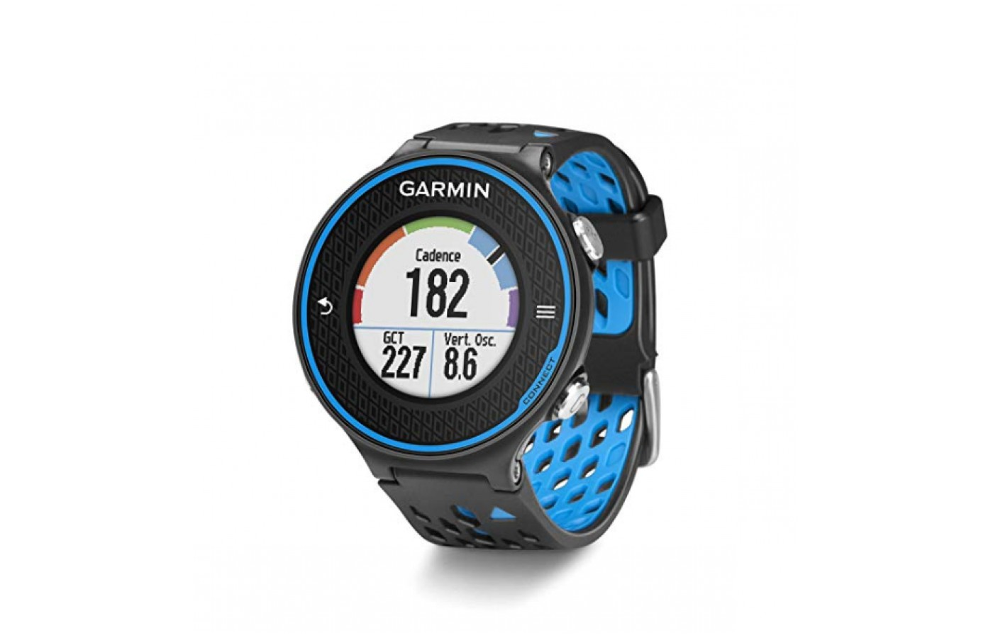 The Garmin can even trach your cadence with the right accessory bundle.