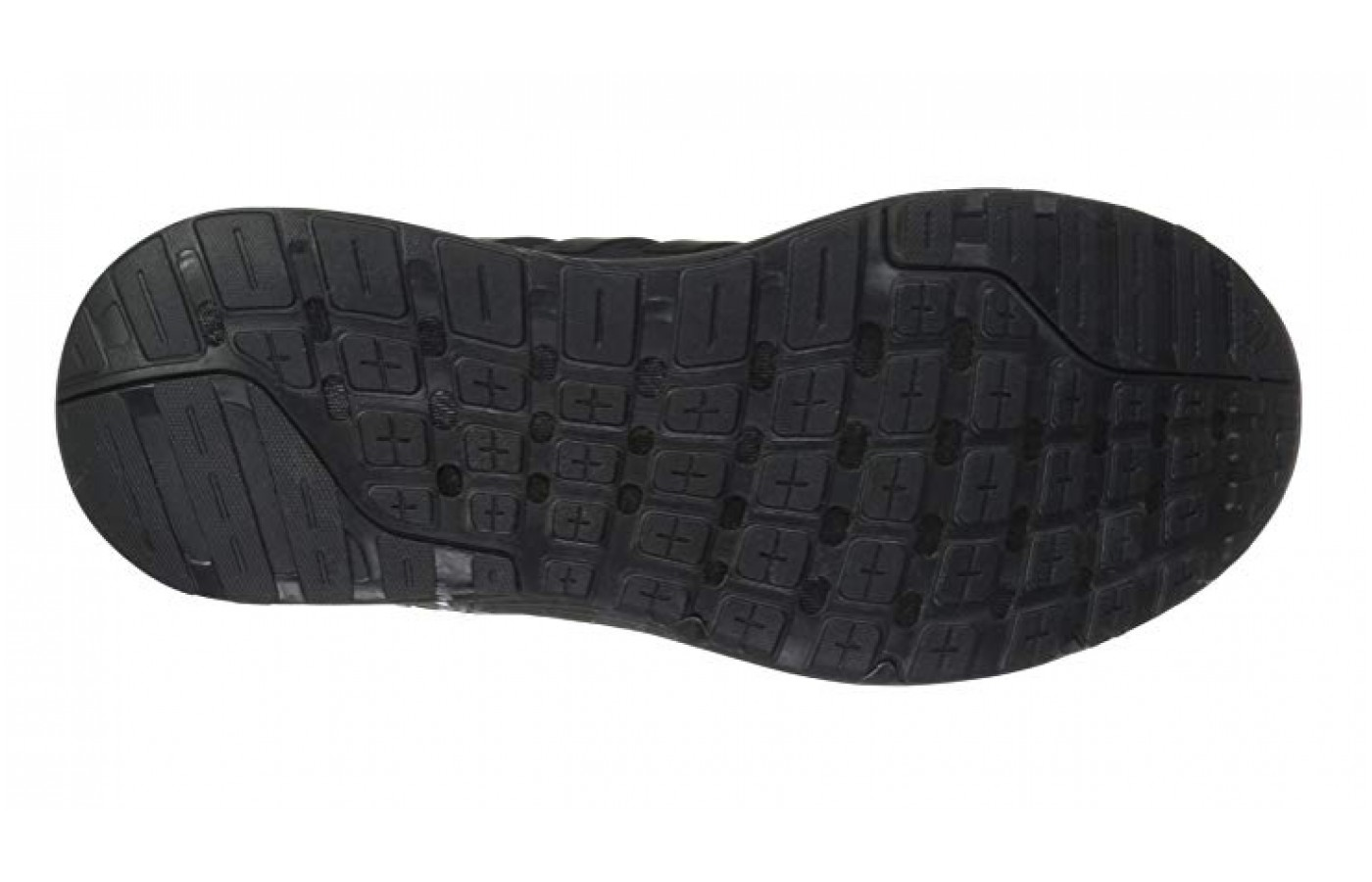 Soft rubber sole traction is great on smooth surfaces and for ultimate flexibility.