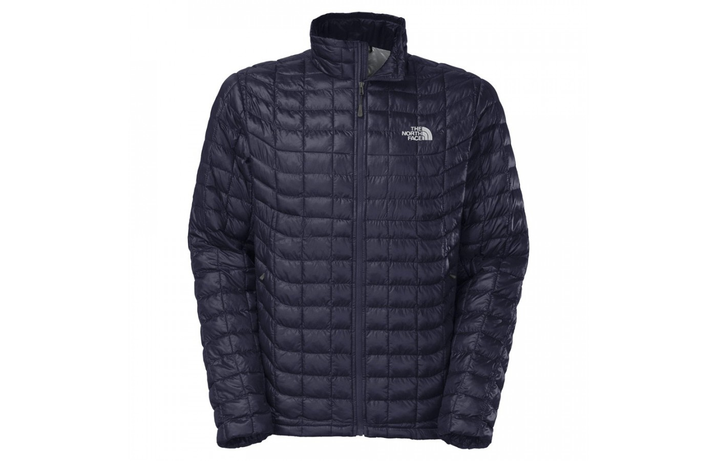 The North Face Thermoball offers 100% Nylon ripstop in order to keep the wearer dry.