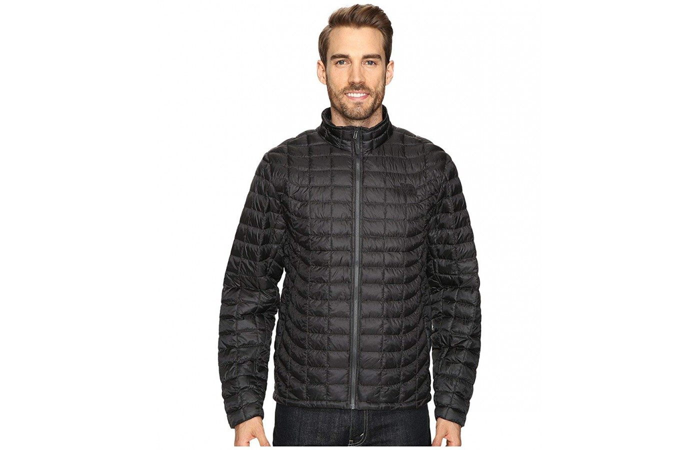 The North Face Thermoball offers an insulated quilted design in order to keep the wearer warm as well.
