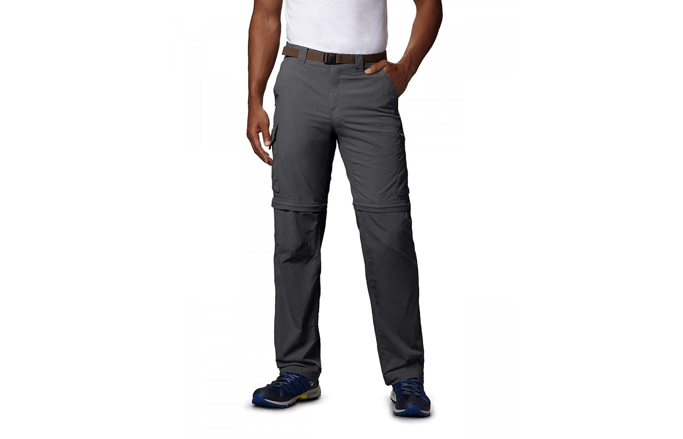 The Columbia Silver Ridge Convertible Pants and thin and lightweight.