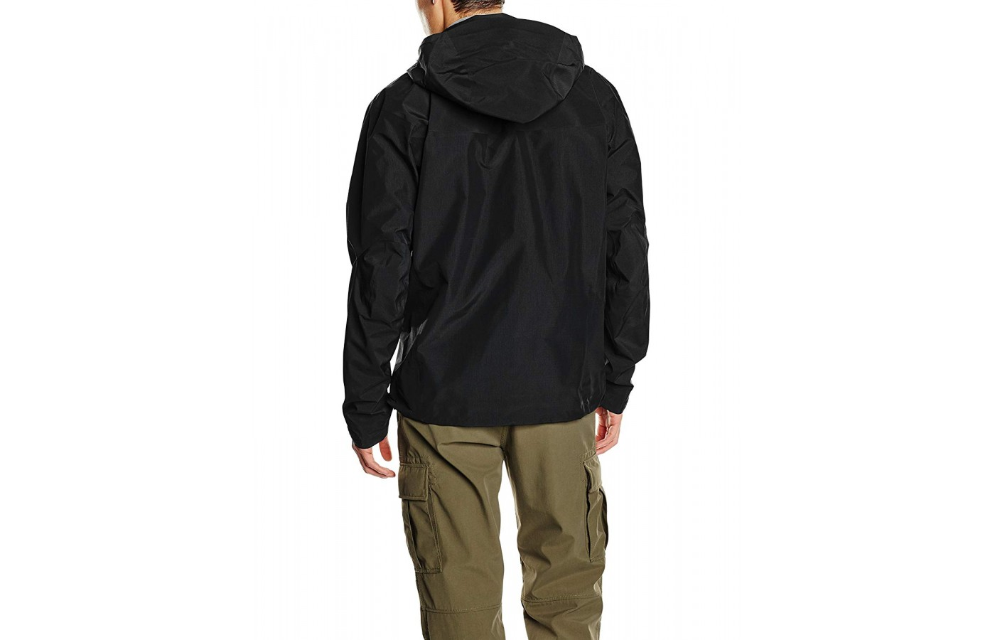 Most of the jacket uses 40-denier Gore-Tex Pro material.