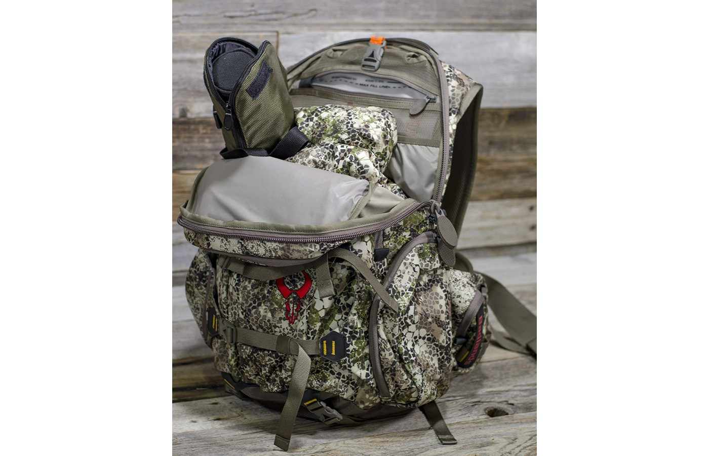 The Badlands Superday Pack is large enough to carry a substantial number of items.