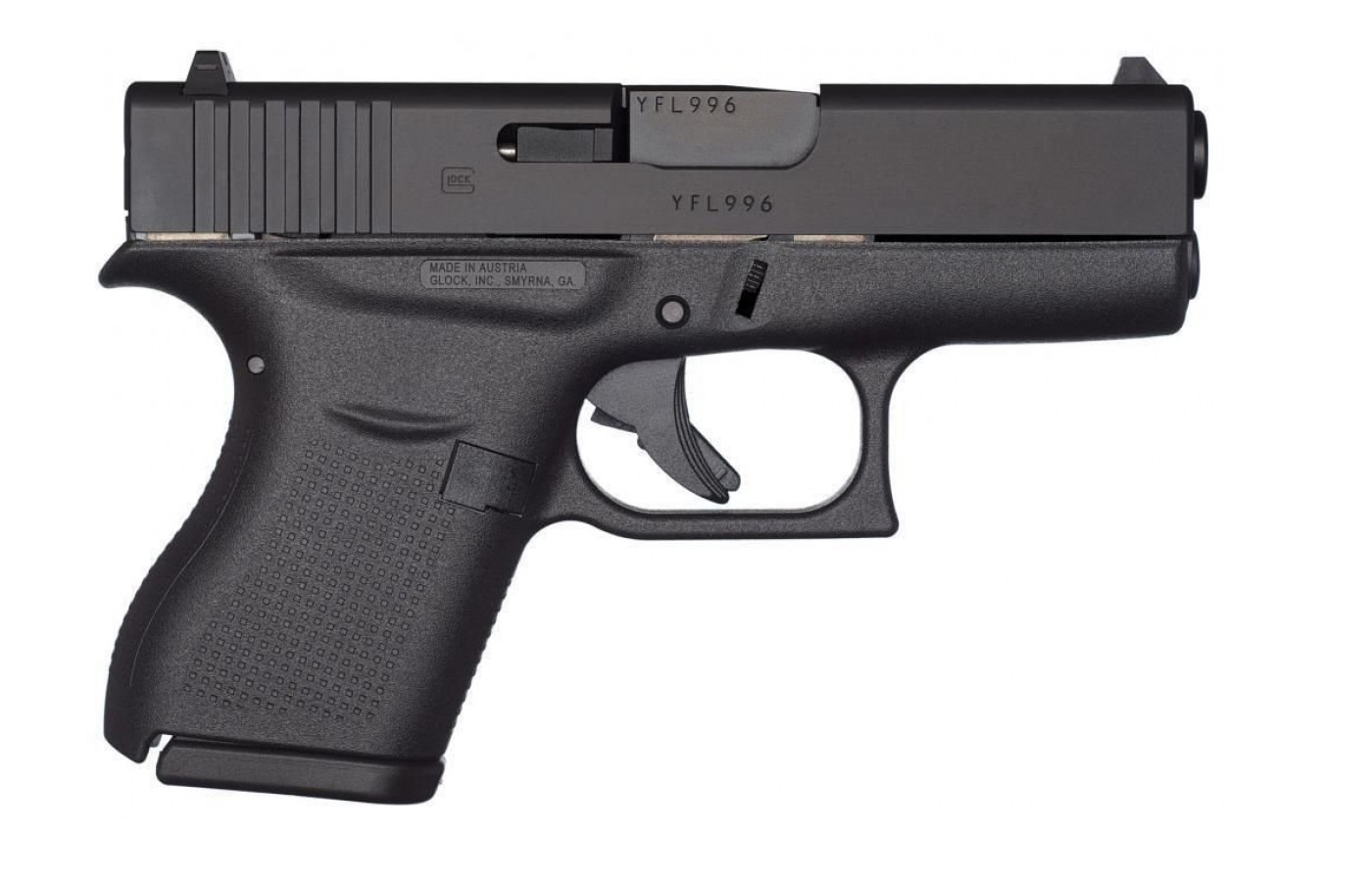 The main selling point of the Glock 43 is its diminutive size.