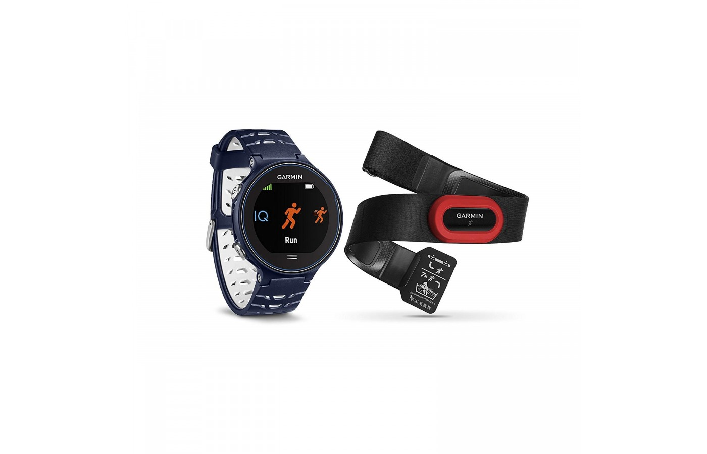 The Garmin Forerunner 630 offers a HRM-Run monitor for even further accuracy with heart rate monitoring when in motion.