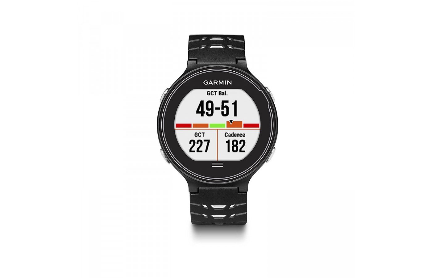 The Garmin Forerunner 630 offers a high resolution color display for easier access to information.