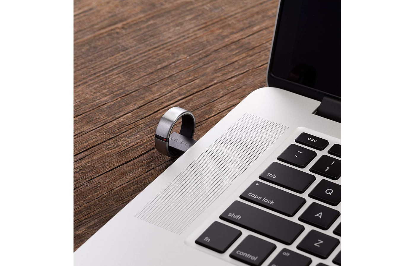 The charging dock, a simple USB port-compatible magnetic item, is smaller than some wireless mouse plug-ins and gives a full charge in under 90 minutes.