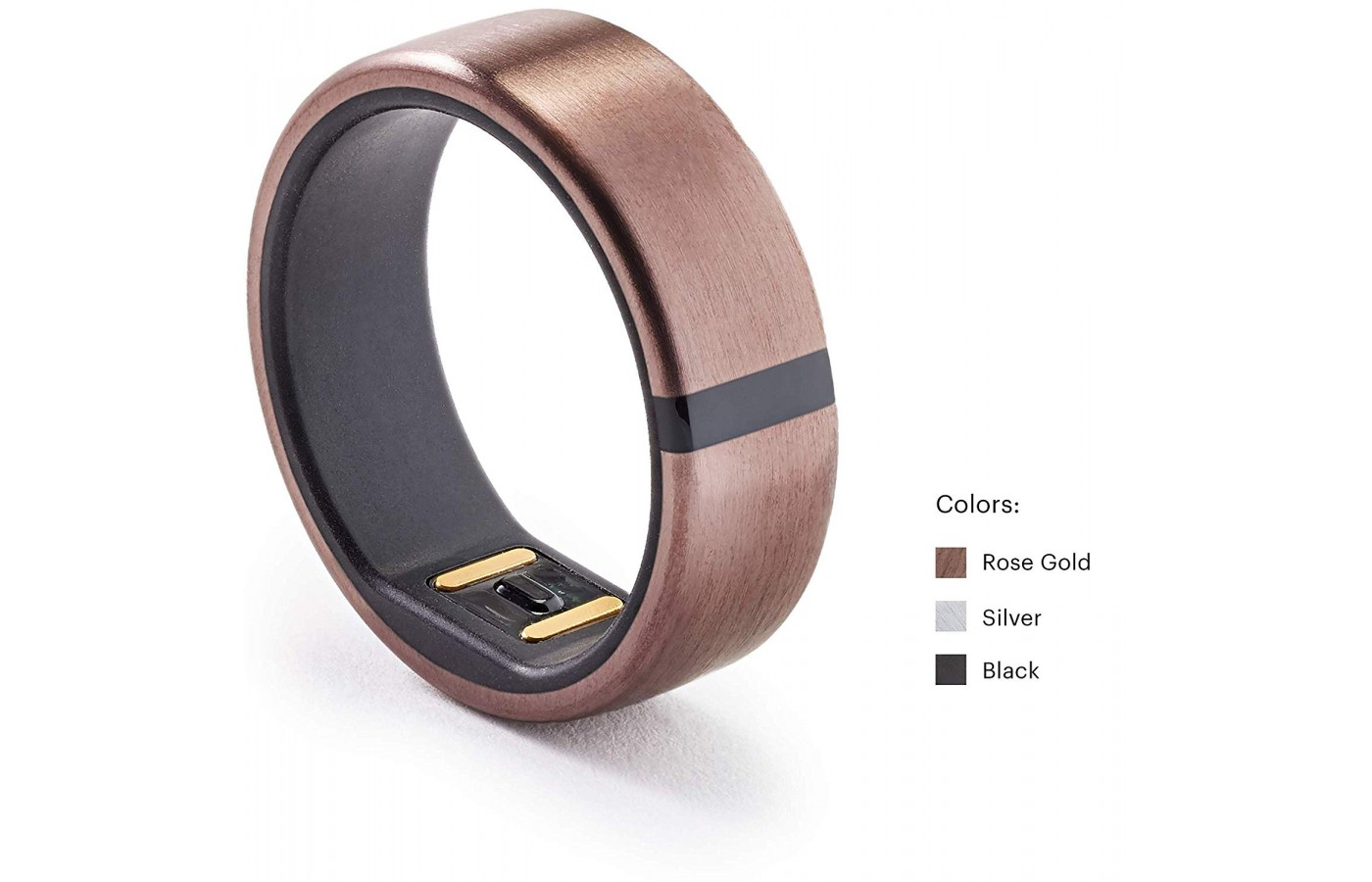 The Motiv Ring is available in a rose gold version.