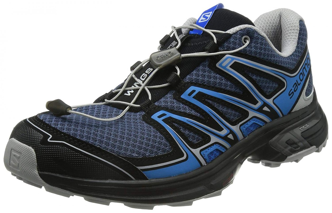 This particular running shoe was designed for downhill speed