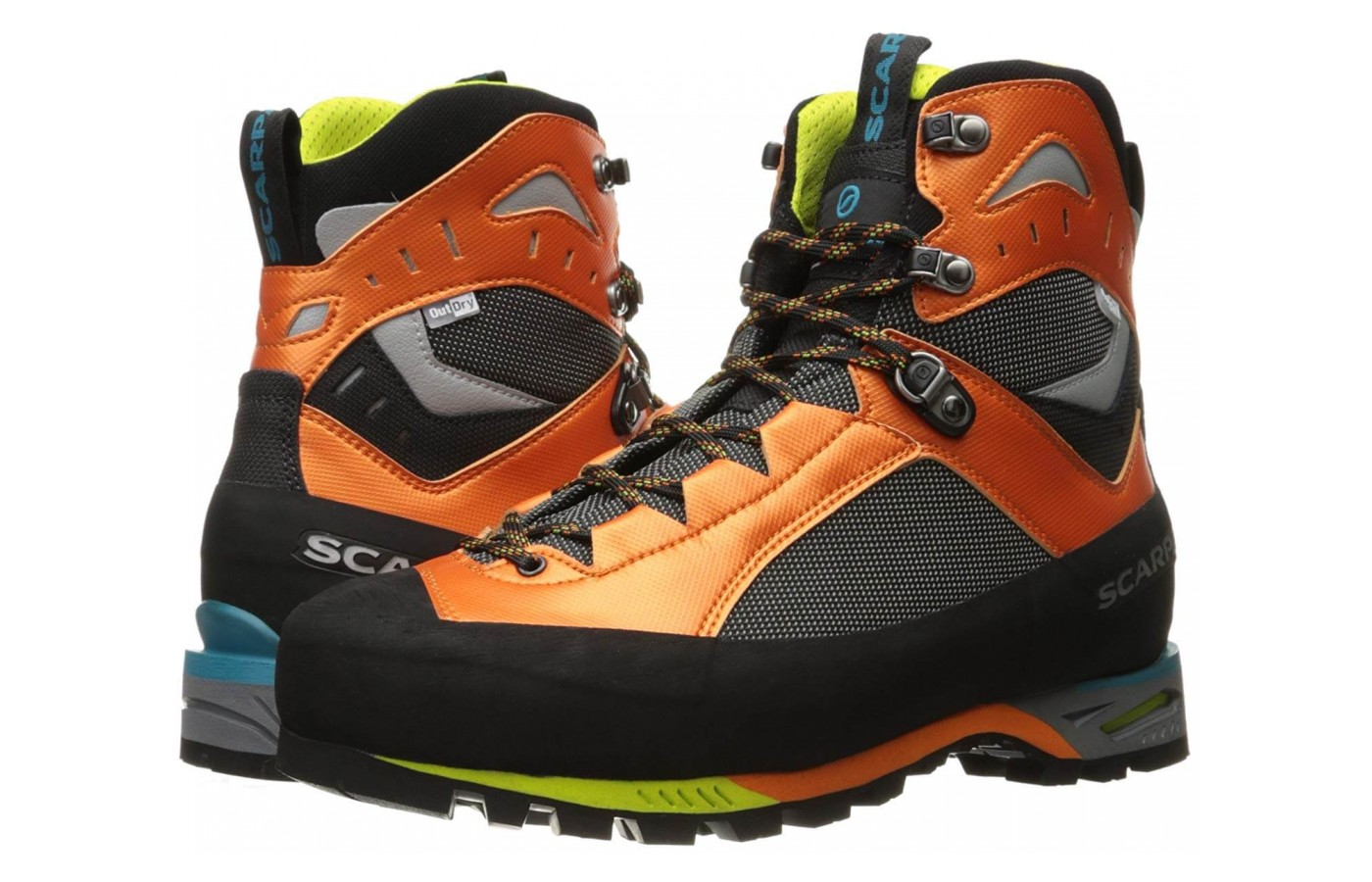 The upper of this SCARPA boot is composed of Nylon and Microtech synthetic materials in order to keep you safe and supported.