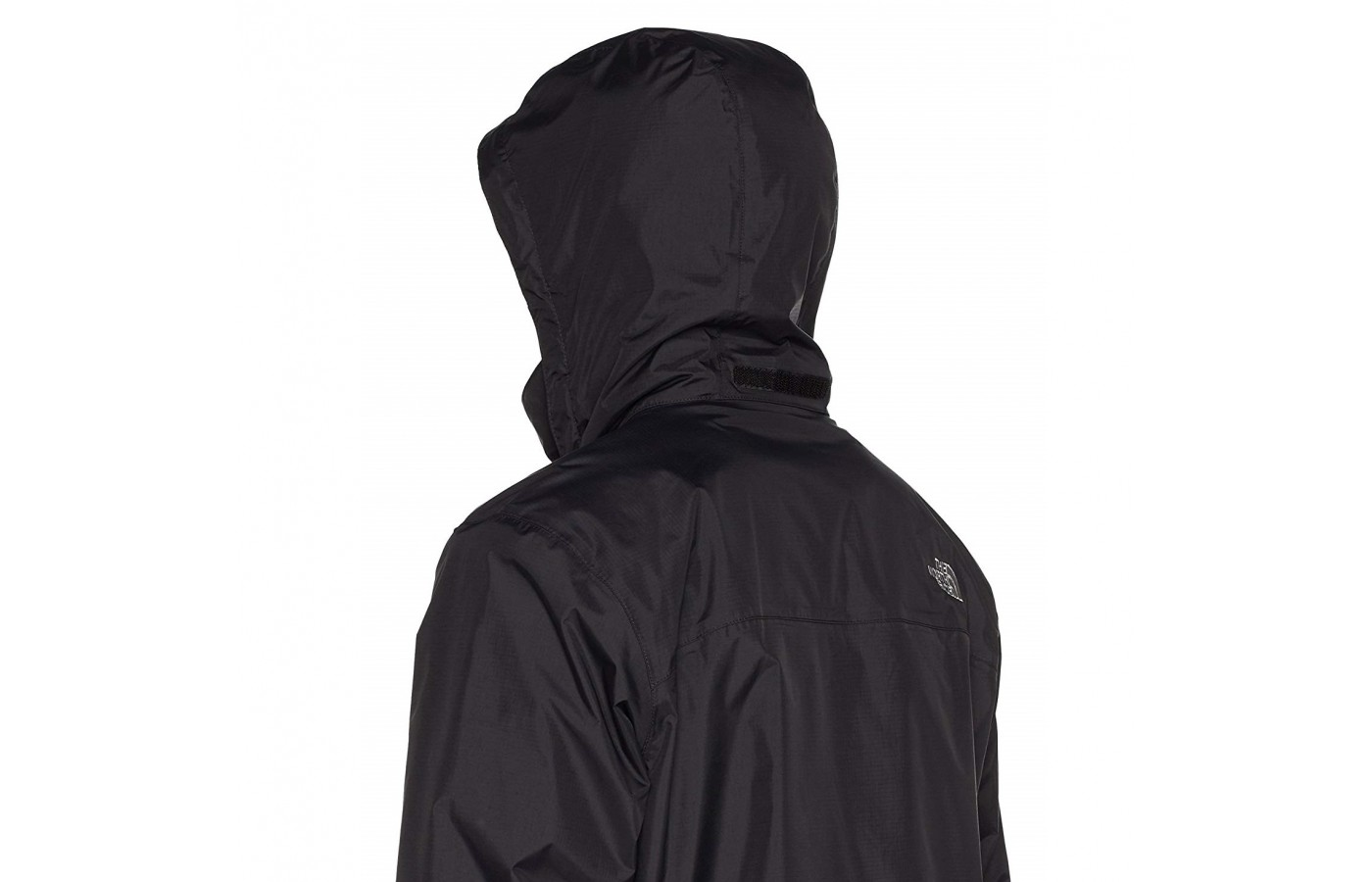 The North Face Resolve 2 offers a waterproof hood to protect the head during rainy days.