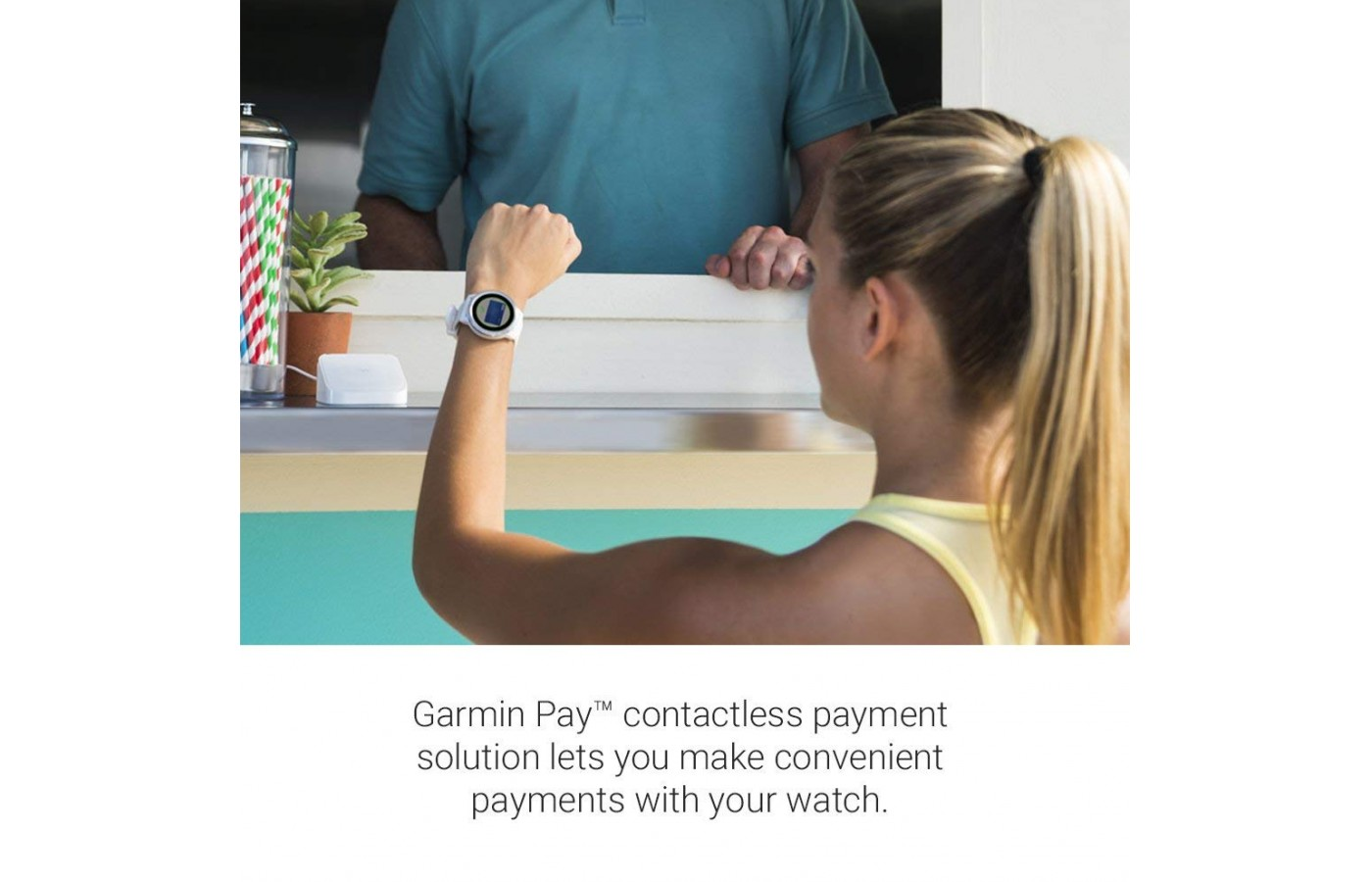 Garmin Pay is another useful app, if you find yourself out and about without your wallet and want to buy a beverage or quick snack