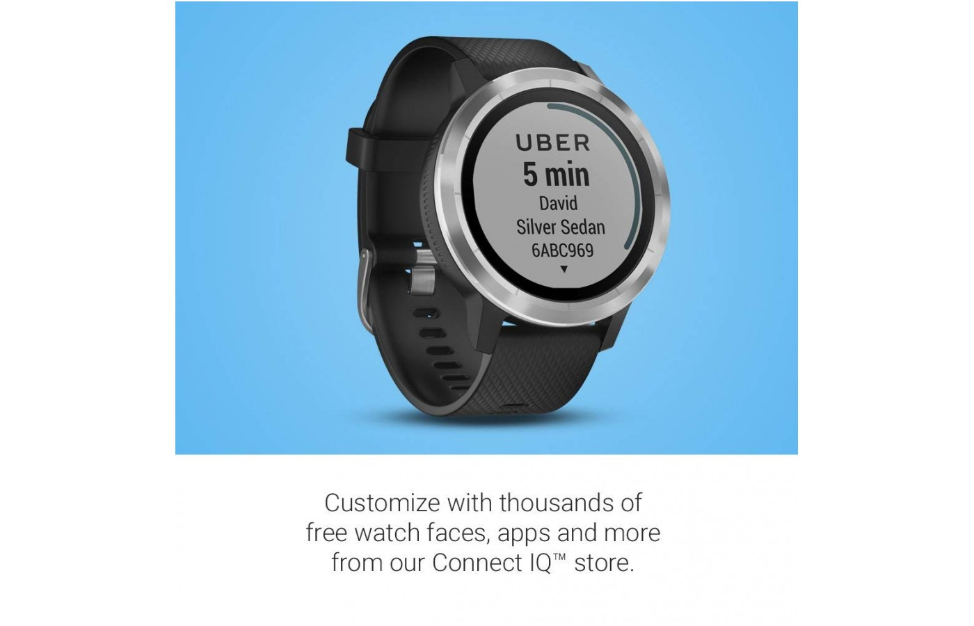 an Uber monitor to see how far away your driver is;
