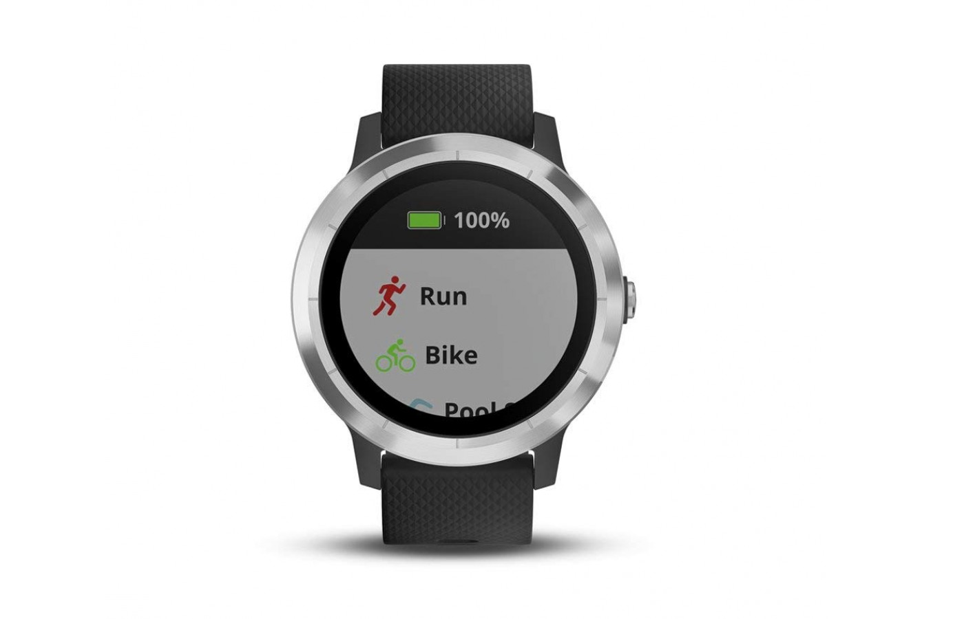 The preloaded indoor and GPS outdoor sports on your watch include yoga, running, swimming, stand-up paddle-boarding, and even golfing.