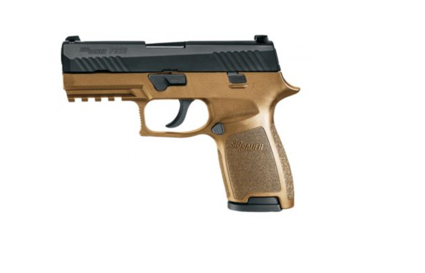 The Sig Sauer P320 is reliable and accurate.