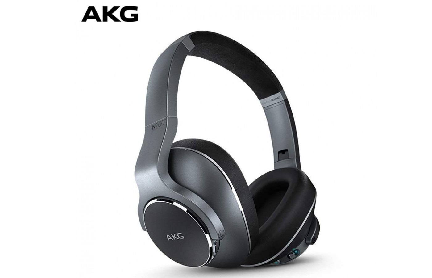 The excellent sound and stylish looks place the AKG N700NC on the list of wireless, noise-canceling headphones worth considering.