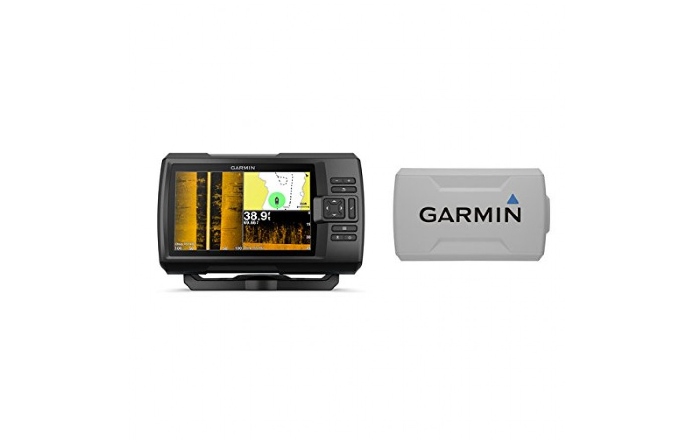 The Garmin Striker 7SV comes with durable casing.