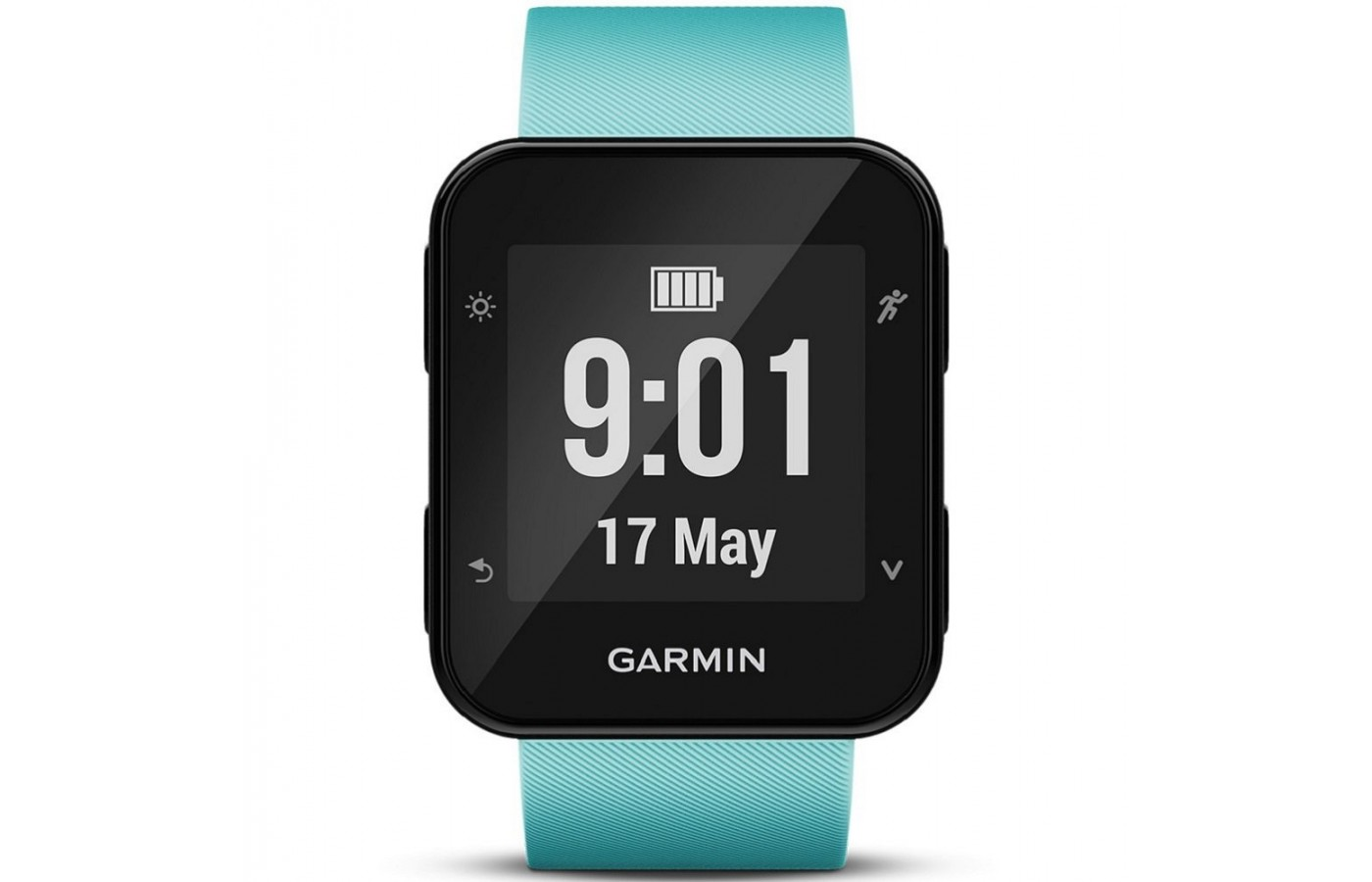 The Garmin Forerunner 35 is a GPS running watch that allows users to stay connected when they share their fitness progress.