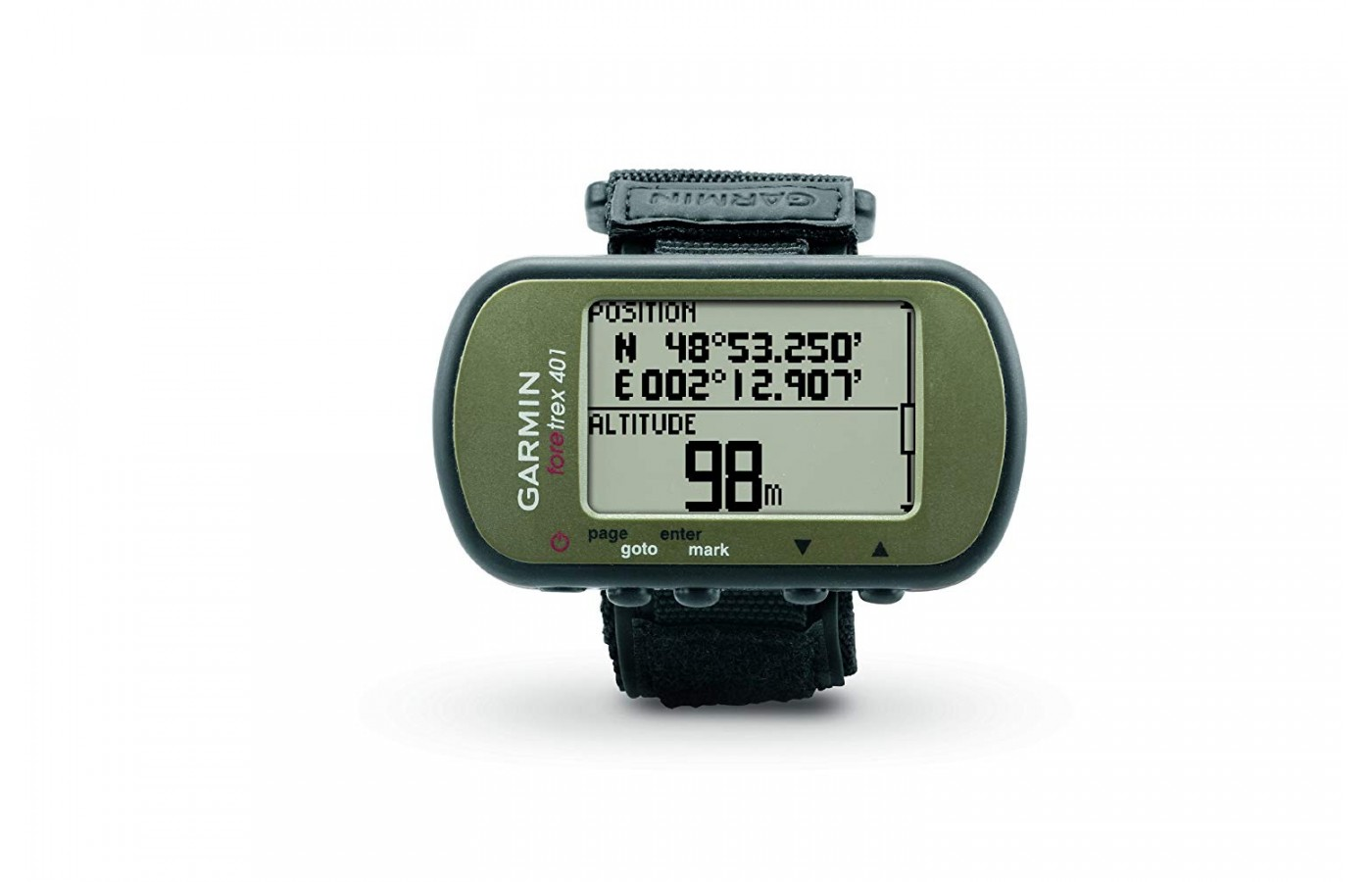 Keep track of altitude and bearings with the barometric altimeter and electronic compass.