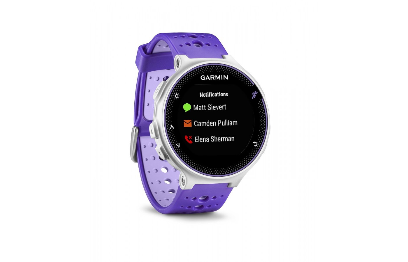Daily activity tracking and smartwatch notifications are features the watch has.