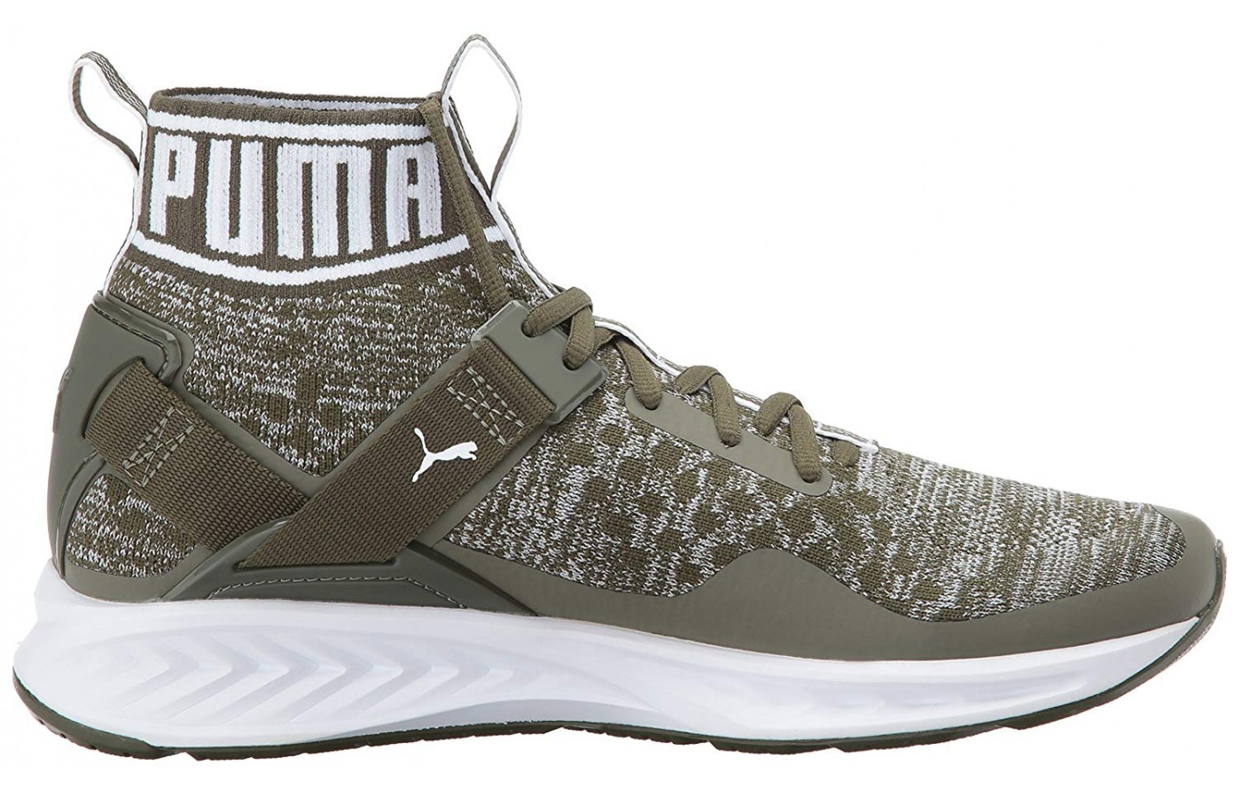 The Puma Ignite Evoknit is available in a variety of color patterns.