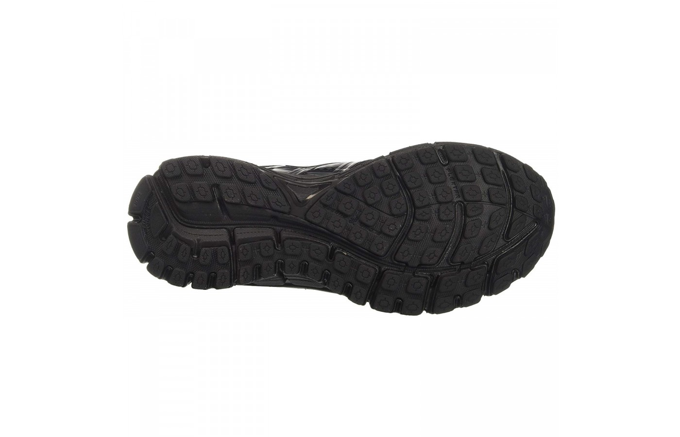 The Brooks Adrenaline GTS 17 offers a durable and sticky tread in order to offer superior traction.