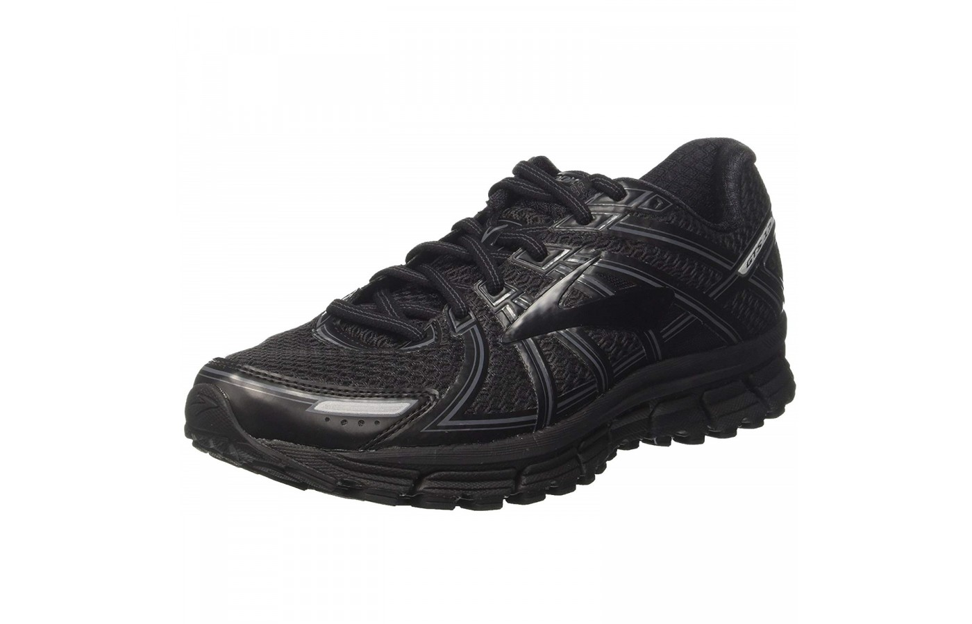 The Brooks Adrenaline GTS 17 offers a mesh upper in order to provide superior breathability.