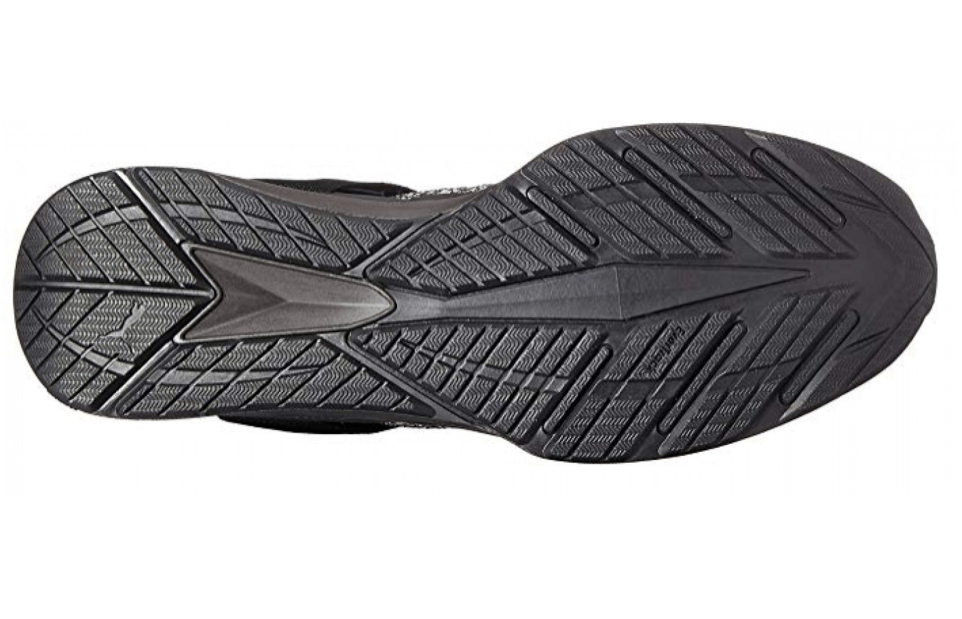 The tread offers traction even on wet surfaces.