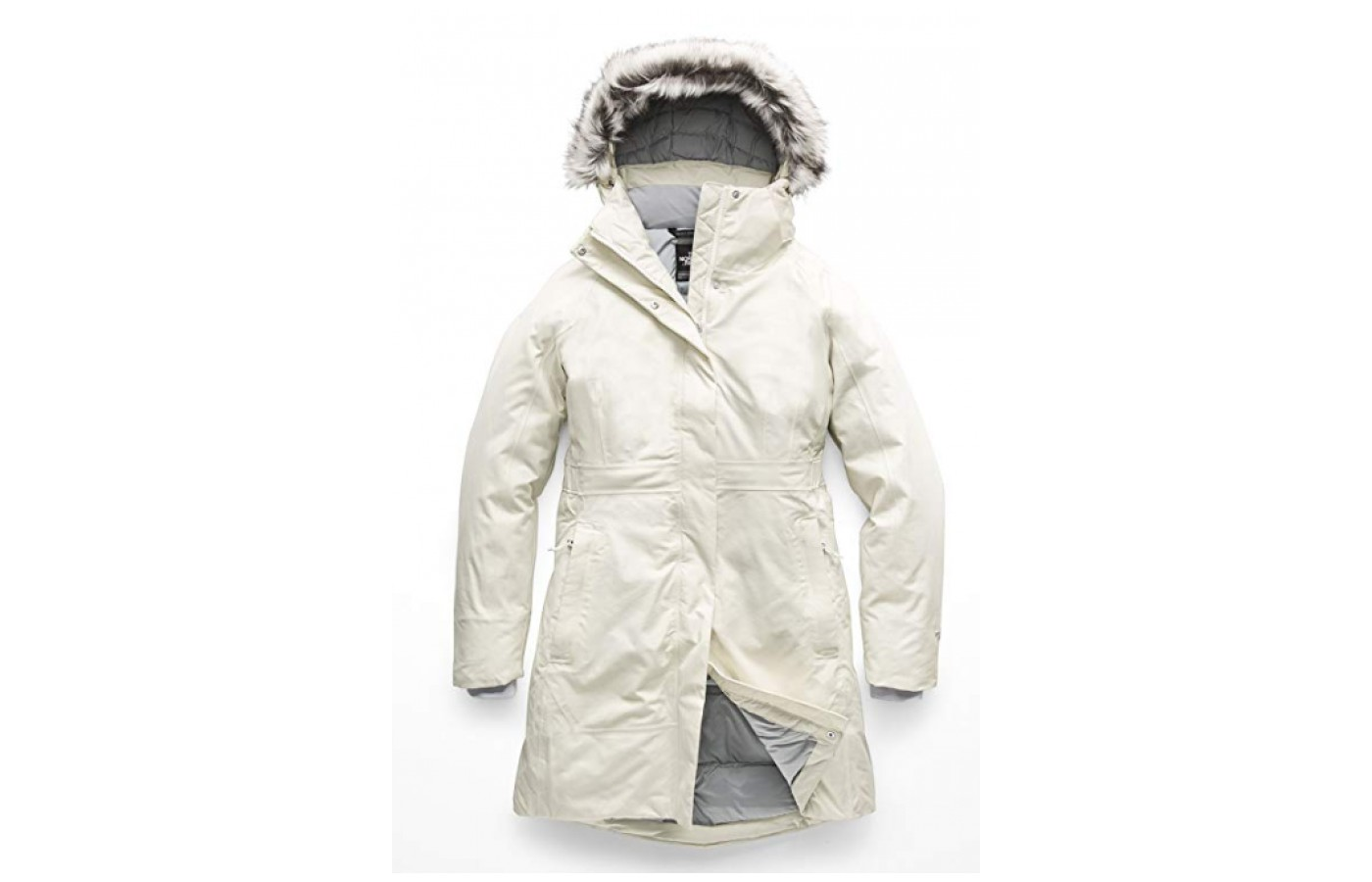 The Parka offers double protection via a flap that covers the inside zipper.