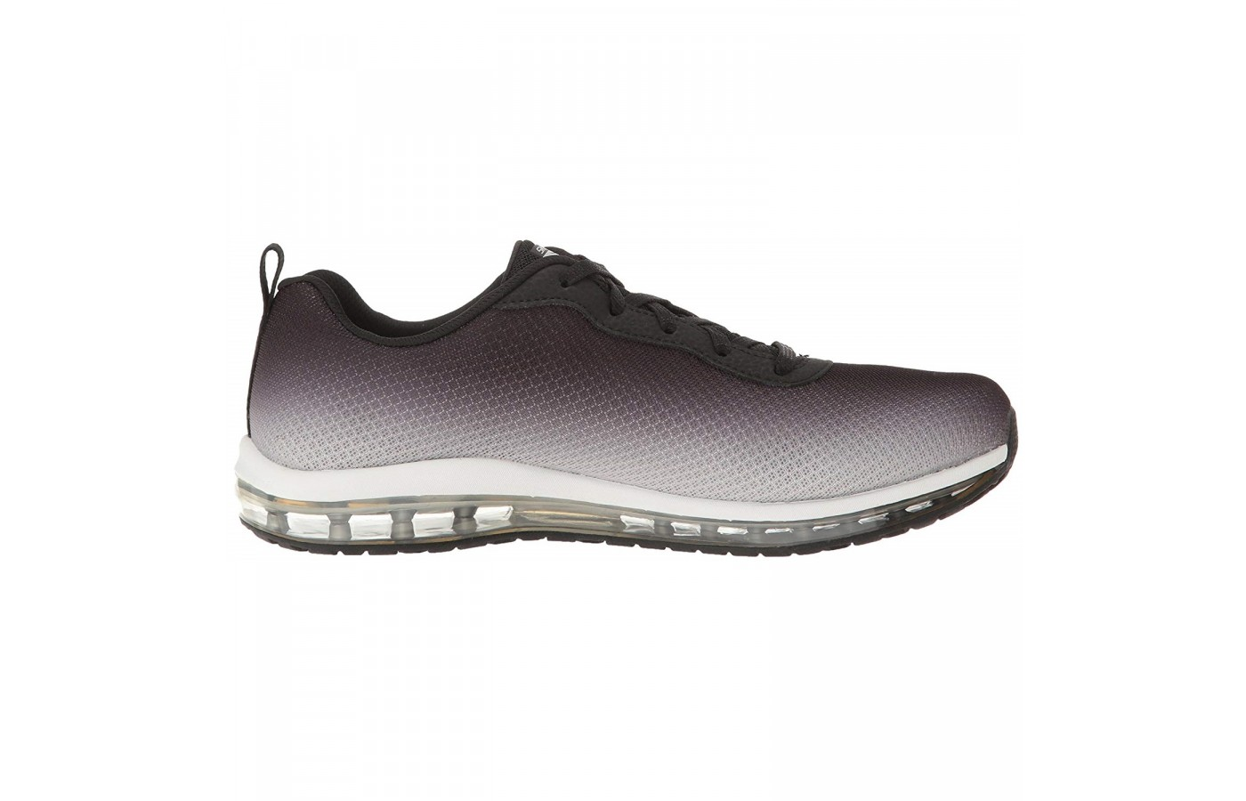 The Skechers Skech Air offers a padded collar and tongue for comfort and support around the ankle.