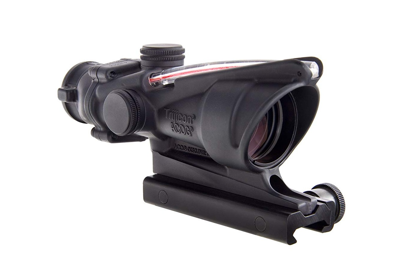 an authentic Trijicon ACOG will have this feature raised and tangible, not simply embossed or stamped on