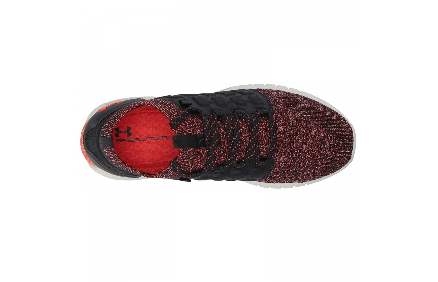 The Under Armour HOVR Phantom offers an all knit top for better stability and comfort.