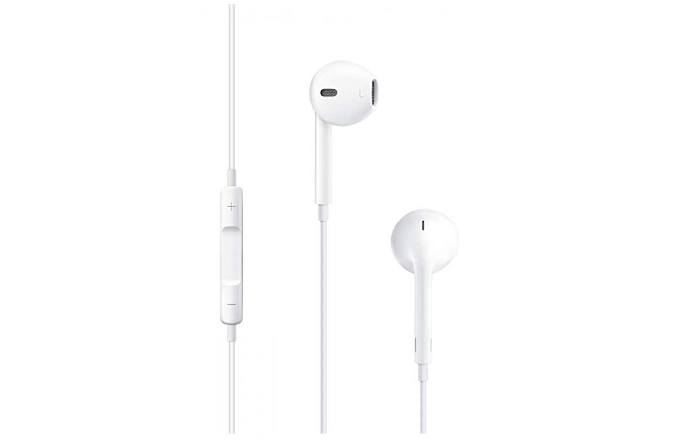 Apple Earpods are easy to use.